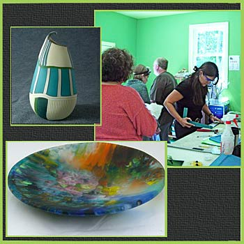 Gallery: Paintings, Sculpture, Photography, Raku Pottery, Jewelry & Mono Prints