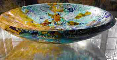 Big Glass Bowl/Glass Sink (click image to enter)